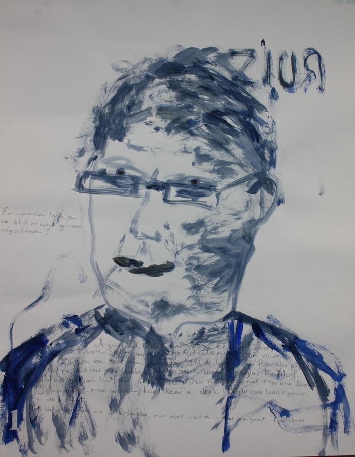 Kunst van Zijn Projecten - Zelfportretten Suhela Pluijmers