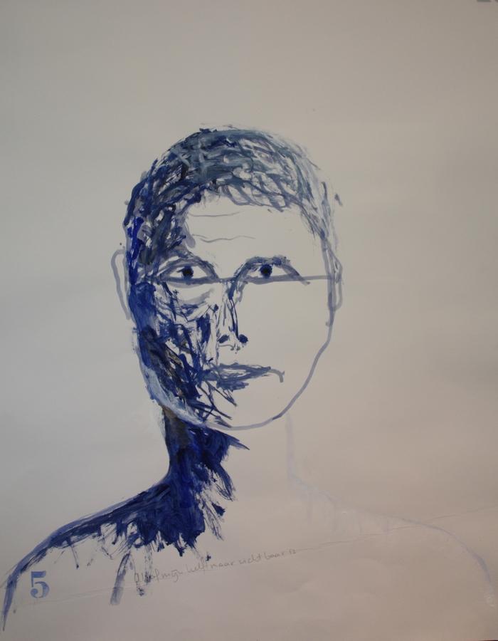 Kunst van Zijn Projecten - 50 dagen zelfportret Suhela Pluijmers