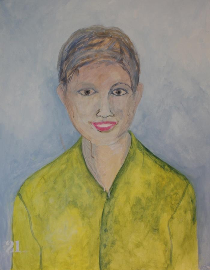 Kunst van Zijn Projecten - Zelfportret Suhela Pluijmers